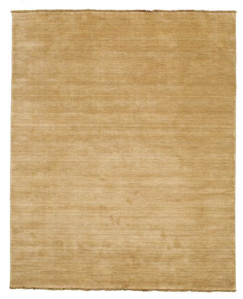 Handloom Fringes - Beige Matto 200X250 Moderni Tummanbeige/Beige (Villa, Intia)