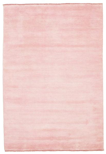 Handloom Fringes - Roosa Matto 160X230 Moderni Vaaleanpunainen (Villa, Intia)
