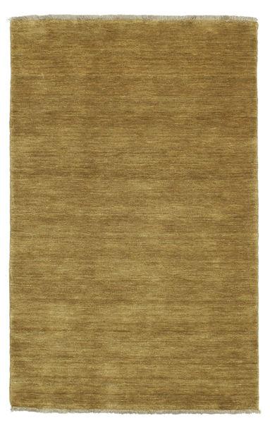 Handloom Fringes - Oliivinvihreä Matto 100X160 Moderni Oliivinvihreä/Ruskea (Villa, Intia)