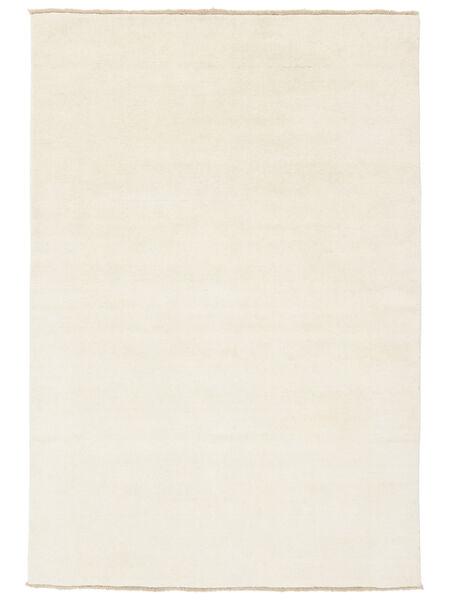 Handloom Fringes - Vaalea Matto 120X180 Moderni Beige/Keltainen (Villa, Intia)