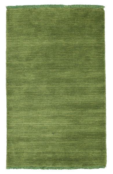 Handloom Fringes - Vihreä Matto 80X120 Moderni Oliivinvihreä (Villa, Intia)