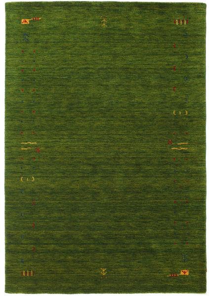Gabbeh Loom Frame - Vihreä Matto 160X230 Moderni Tummanvihreä (Villa, Intia)