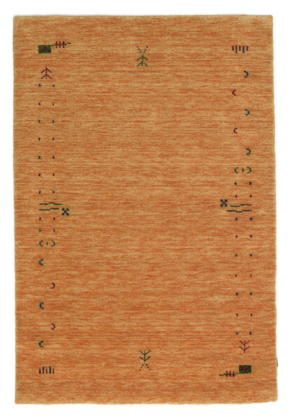 Gabbeh Loom Frame - Oranssi Matto 120X180 Moderni Ruoste/Tummanpunainen (Villa, Intia)