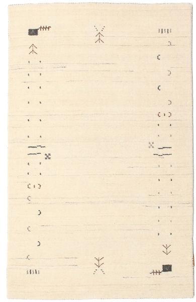 Gabbeh Loom Frame - Valkea Matto 100X160 Moderni Beige/Vaaleanpunainen (Villa, Intia)
