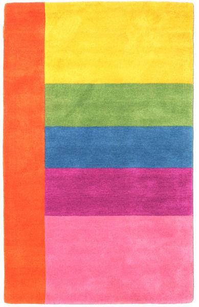Colors By Meja Handtufted Matto 100X160 Moderni Pinkki/Ruoste (Villa, Intia)