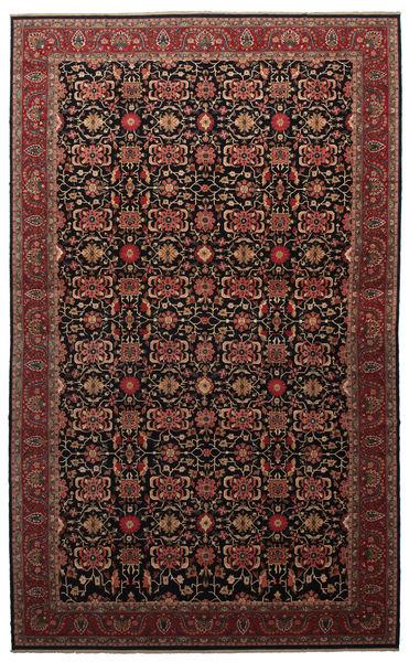 Malayer Matto 505X817 Itämainen Käsinsolmittu Tummanruskea/Tummanpunainen Isot (Villa, Persia/Iran)