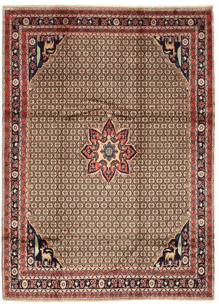 Koliai Matto 205X280 Itämainen Käsinsolmittu Tummanpunainen/Vaaleanruskea (Villa, Persia/Iran)