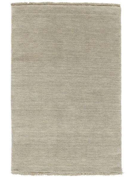 Handloom Fringes - Harmaa/Vaaleanvihreä Matto 160X230 Moderni Vaaleanruskea/Vaaleanharmaa (Villa, Intia)
