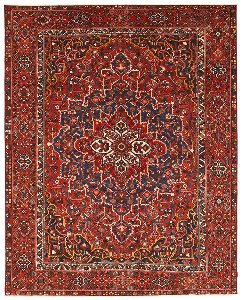 Bakhtiar Patina Matto 337X431 Itämainen Käsinsolmittu Tummanpunainen/Ruoste Isot (Villa, Persia/Iran)