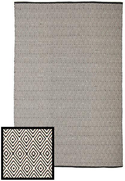 Diamond - Musta/Valkoinen Matto 250X300 Moderni Käsinkudottu Vaaleanharmaa/Tummanharmaa Isot (Puuvilla, Intia)