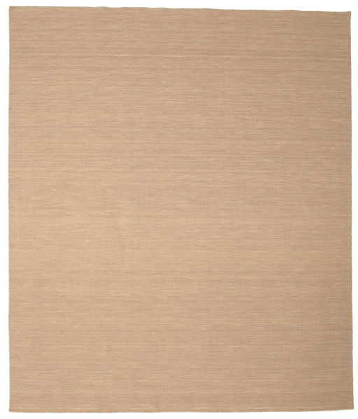 Kelim Loom - Beige Matto 250X300 Moderni Käsinkudottu Vaaleanruskea/Tummanbeige/Beige Isot (Villa, Intia)
