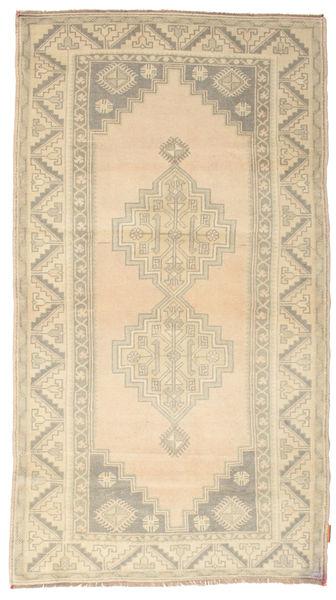 Colored Vintage Matto 115X212 Moderni Käsinsolmittu Beige/Vaaleanharmaa (Villa, Turkki)
