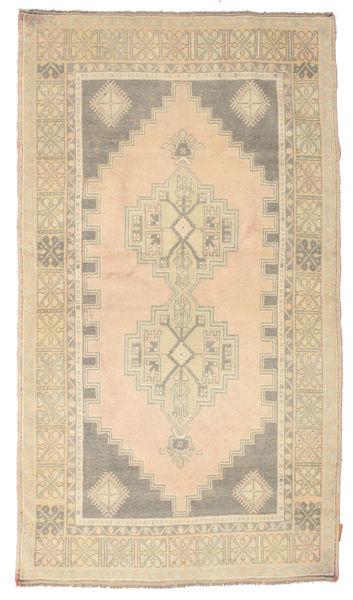 Colored Vintage Matto 114X205 Moderni Käsinsolmittu Beige/Tummanbeige (Villa, Turkki)