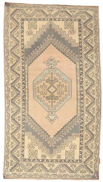 Colored Vintage Matto 120X216 Moderni Käsinsolmittu Vaaleanharmaa/Vaaleanruskea/Beige (Villa, Turkki)