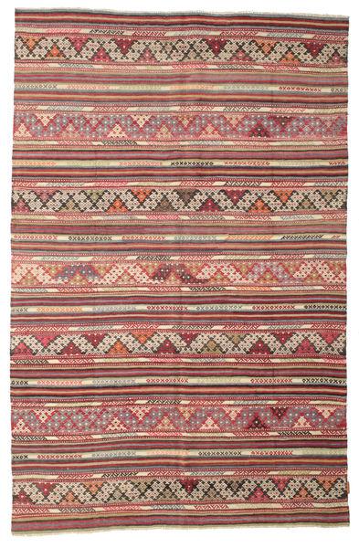 Kelim Semiantiikki Turkki Matto 175X270 Itämainen Käsinkudottu Vaaleanruskea/Ruskea (Villa, Turkki)