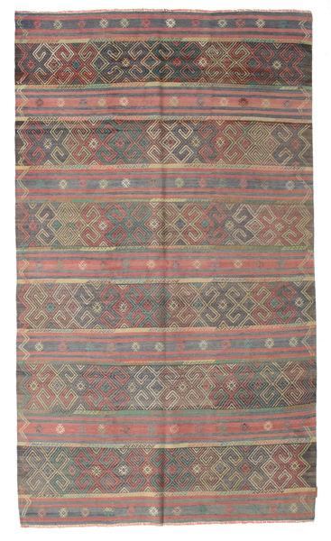 Kelim Semiantiikki Turkki Matto 176X298 Itämainen Käsinkudottu Vaaleanruskea/Pinkki (Villa, Turkki)