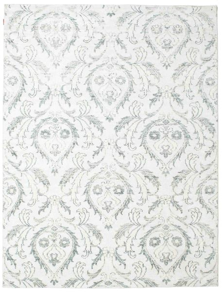 Himalaya Matto 233X307 Moderni Käsinsolmittu Valkoinen/Creme/Beige ( Intia)