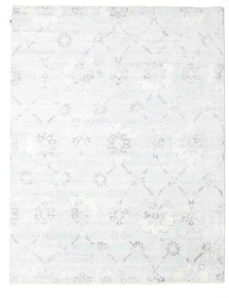 Himalaya Matto 236X304 Moderni Käsinsolmittu Valkoinen/Creme ( Intia)