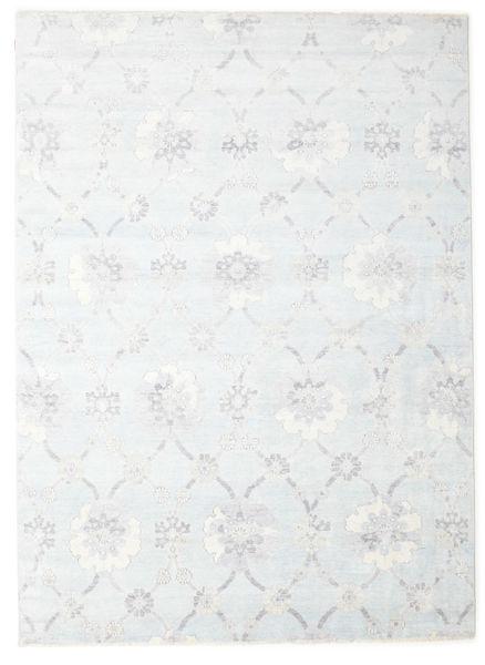 Himalaya Matto 240X308 Moderni Käsinsolmittu Valkoinen/Creme/Vaaleanharmaa ( Intia)