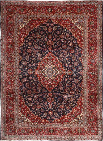 Keshan Matto 255X360 Itämainen Käsinsolmittu Tummanpunainen/Tummanharmaa Isot (Villa, Persia/Iran)