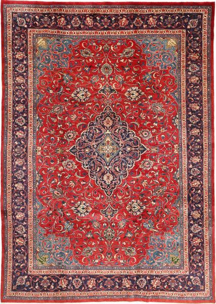 Mahal Matto 212X310 Itämainen Käsinsolmittu Tummanpunainen/Ruoste (Villa, Persia/Iran)