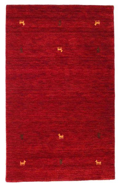 Gabbeh Loom Two Lines - Punainen Matto 100X160 Moderni Punainen/Tummanpunainen (Villa, Intia)