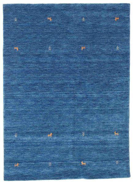 Gabbeh Loom Two Lines - Sininen Matto 160X230 Moderni Tummansininen/Sininen (Villa, Intia)
