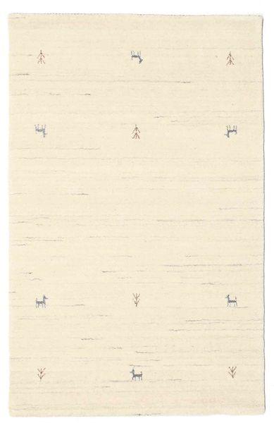Gabbeh Loom Two Lines - Valkea Matto 100X160 Moderni Beige (Villa, Intia)