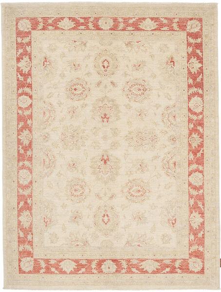 Ziegler Matto 155X210 Itämainen Käsinsolmittu Beige/Vaaleanpunainen (Villa, Pakistan)