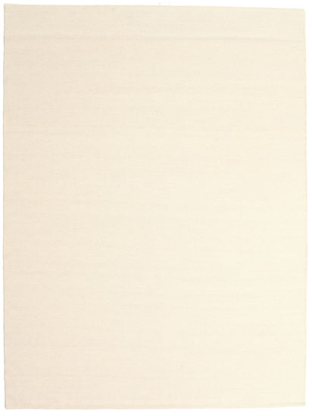 Kelim Loom - Valkea Matto 160X230 Moderni Käsinkudottu Beige/Valkoinen/Creme (Villa, Intia)