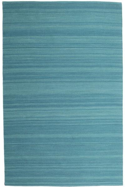 Kelim Loom - Petrol Blue Matto 200X300 Moderni Käsinkudottu Siniturkoosi (Villa, Intia)