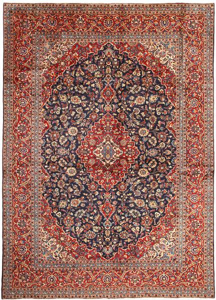 Keshan Matto 291X407 Itämainen Käsinsolmittu Tummanruskea/Tummanpunainen Isot (Villa, Persia/Iran)