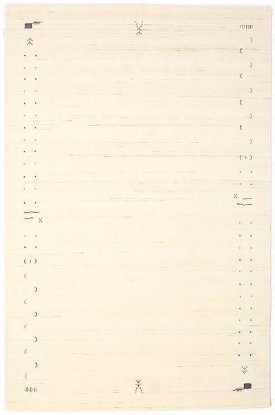 Gabbeh Loom Frame - Valkea Matto 190X290 Moderni Beige/Valkoinen/Creme (Villa, Intia)
