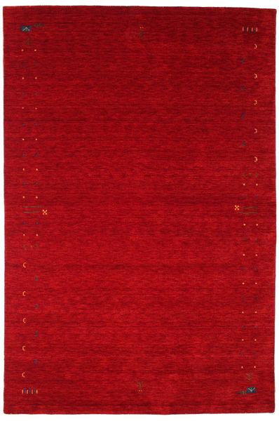 Gabbeh Loom Frame - Punainen Matto 190X290 Moderni Punainen/Tummanpunainen (Villa, Intia)