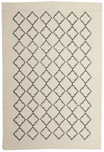 Marjorie - Valkea Matto 200X300 Moderni Käsinkudottu Tummanbeige/Vaaleanharmaa/Beige (Villa, Intia)