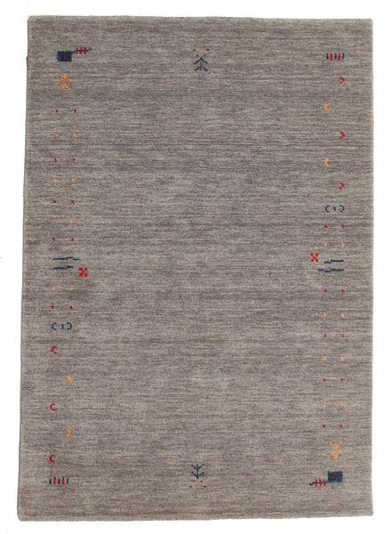 Gabbeh Loom Frame - Harmaa Matto 140X200 Moderni Vaaleanharmaa/Tummanharmaa (Villa, Intia)
