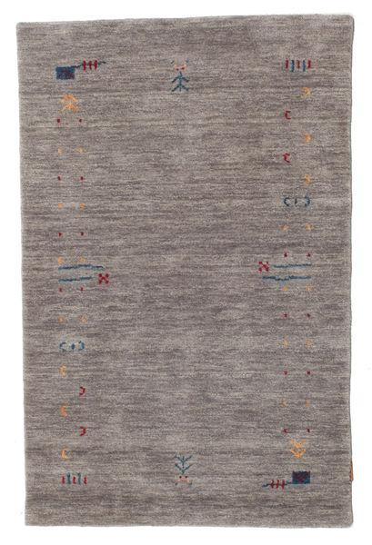 Gabbeh Loom Frame - Harmaa Matto 100X160 Moderni Tummanharmaa/Vaaleanharmaa (Villa, Intia)