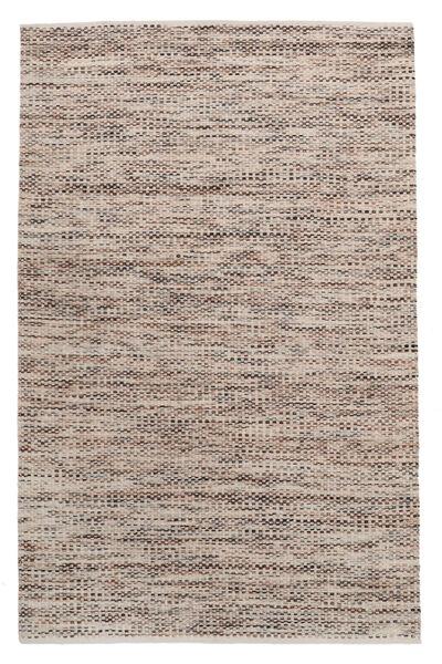 Pebbles - Ruskea Mix Matto 160X230 Moderni Käsinkudottu Vaaleanharmaa/Beige ( Intia)