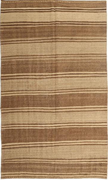 Kelim Moderni Matto 174X289 Moderni Käsinkudottu Vaaleanruskea/Ruskea/Tummanbeige (Villa, Persia/Iran)