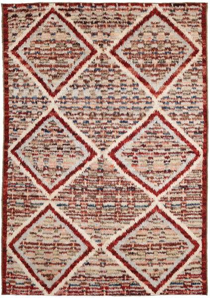 Barchi/Moroccan Berber Matto 191X287 Moderni Käsinsolmittu Tummanruskea/Vaaleanruskea (Villa, Afganistan)