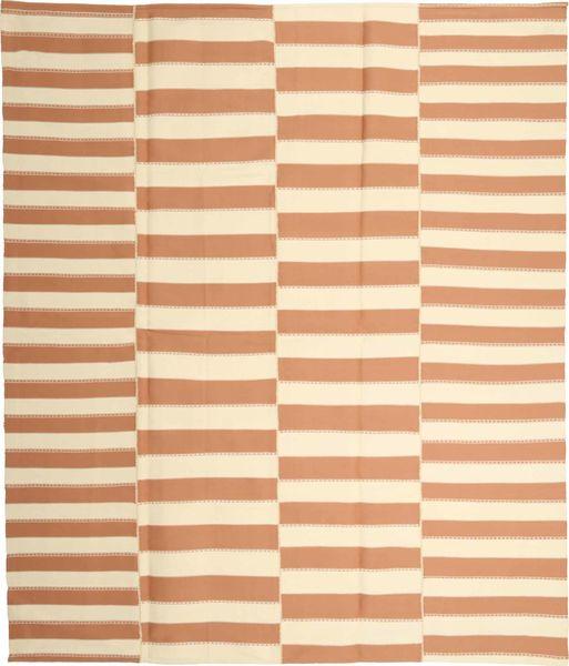 Kelim Moderni Matto 229X266 Moderni Käsinkudottu Beige/Vaaleanruskea (Puuvilla, Persia/Iran)