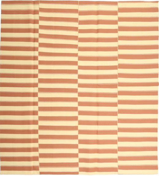 Kelim Moderni Matto 232X256 Moderni Käsinkudottu Vaaleanruskea/Beige (Puuvilla, Persia/Iran)