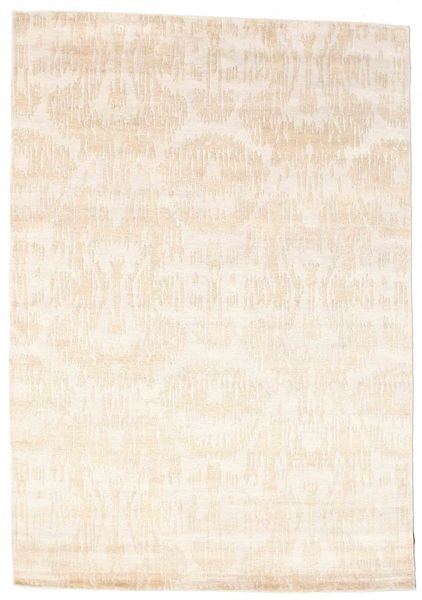 Himalaya Matto 169X242 Moderni Käsinsolmittu Beige ( Intia)