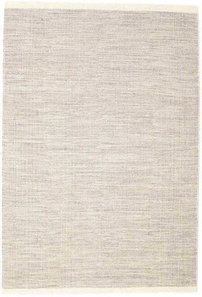 Seaby - Ruskea Matto 160X230 Moderni Käsinkudottu Vaaleanharmaa/Beige (Villa, Intia)