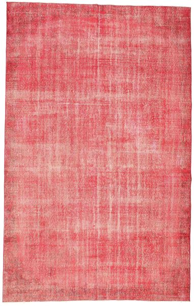 Colored Vintage Matto 187X298 Moderni Käsinsolmittu Vaaleanpunainen/Pinkki (Villa, Turkki)
