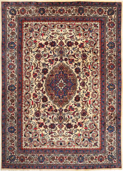 Mashad Matto 250X356 Itämainen Käsinsolmittu Tummanpunainen/Tummanvioletti Isot (Villa, Persia/Iran)