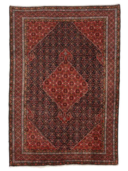 Ardebil Matto 203X295 Itämainen Käsinsolmittu Tummanruskea/Tummanpunainen (Villa, Persia/Iran)
