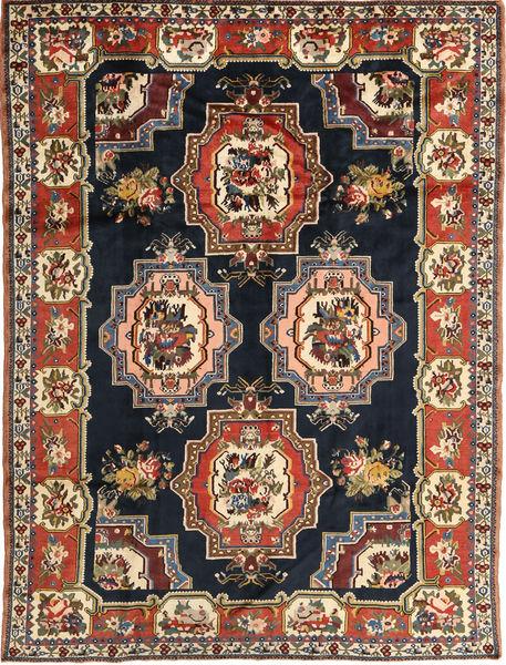 Bakhtiar Matto 207X275 Itämainen Käsinsolmittu Tummanruskea/Tummansininen (Villa, Persia/Iran)