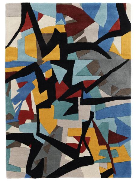 Stefan Matto 160X230 Moderni Sininen/Musta (Villa, Intia)