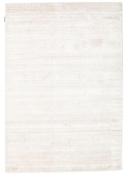 Bamboo Silkki Loom - Beige Matto 140X200 Moderni Beige/Valkoinen/Creme ( Intia)